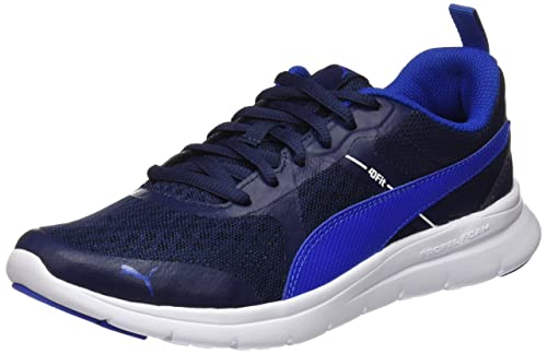 Puma Escaper Mesh, Zapatillas de Cross Unisex Adulto, Azul (Turkish Sea-Peacoat), 36 EU