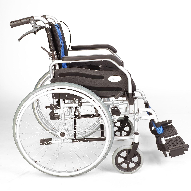 Deluxe leggero ripiegamento semovente sedia a rotelle ECSP01 18 Amazon Salute e cura della persona