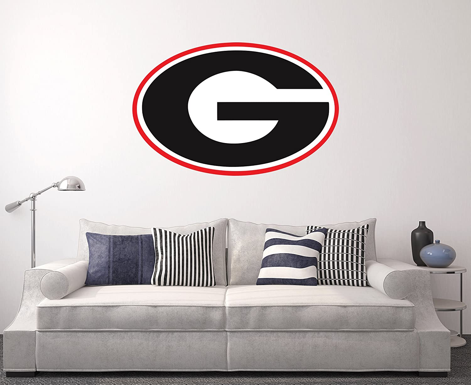 West Mountain Georgia Bulldogs Wall Decal Home Decor Art NCAA Team Sticker