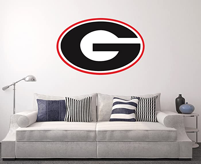 West Mountain Georgia Bulldogs Wall Decal Home Decor Art NCAA Team Sticker