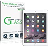 "iPad 9.7"" (2017) / iPad Pro 9.7 Inch / iPad Air / iPad Air 2 Screen Protector Glass, amFilm Glass Screen Protector for Apple iPad Air 2, iPad Air, New iPad 9.7 5th Gen, iPad Pro 9.7 inch (1-Pack)"