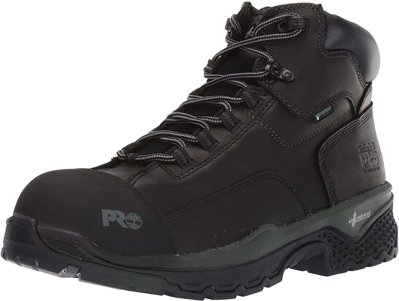 "Timberland PRO Men's Bosshog 6"" Composite Toe Waterproof Industrial Boot, Black, 11 W US"
