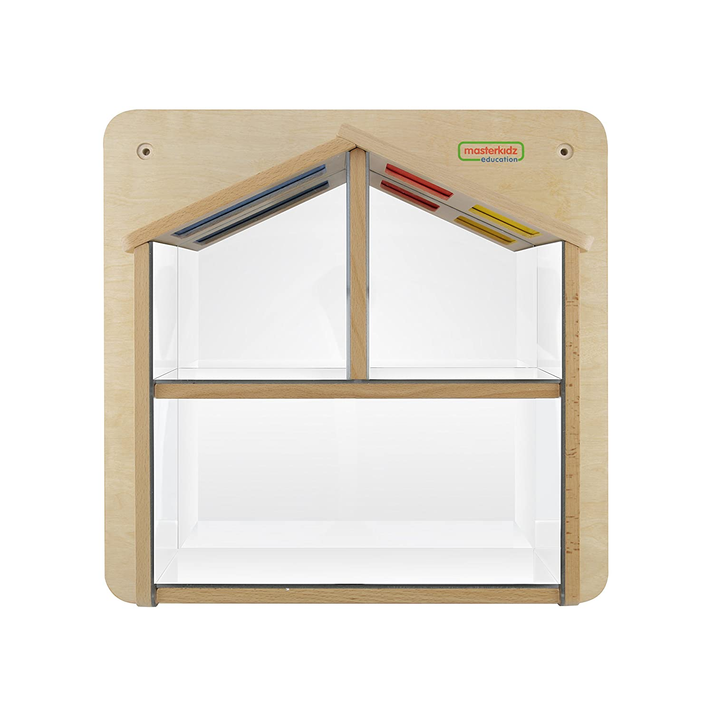 EDUPLAY 120412 46 x 46 x 5,8 cm Wand Element Mirror-House Educational Spiele