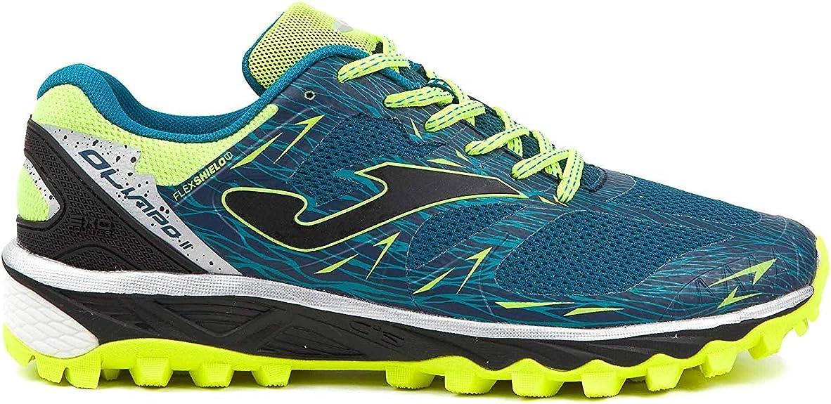 Joma TK Olimpo 803 Navy - Zapatillas de Trail Running para Hombres (UE 44.5 - CM 29.5 - UK 10): Amazon.es: Zapatos y complementos