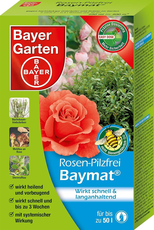Bayer Garten Rosen-Pilzfrei Baymat Pilzbekämpfung, Weiß, 200 ml Weiß SBM Life Science GmbH 84073946