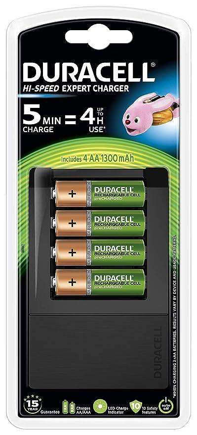 Duracell - Cargador de pilas en 5 minutos, 1 unidad