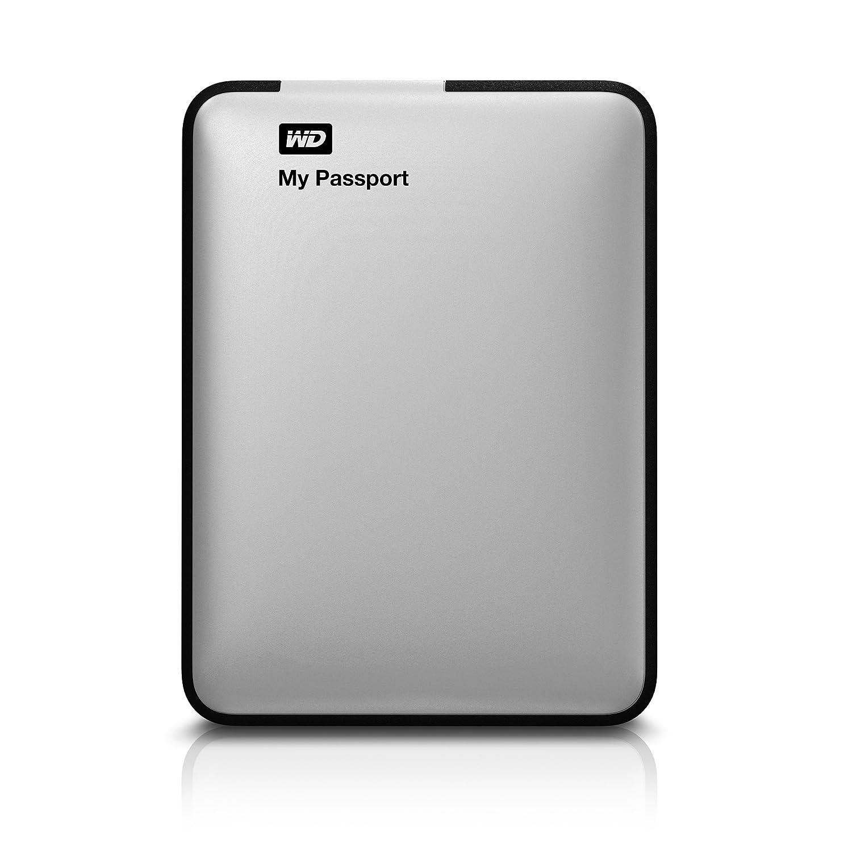 Western Digital My Passport 500 GB USB 3 0 Portable Hard Drive,  WDBKXH5000ASL-NESN (Silver)