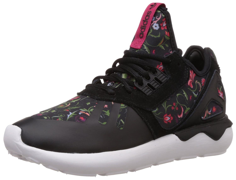 adidas Tubular Runner Damen Laufschuhe  38 2/3 EU|Schwarz (Core Black/Core Black/Vivid Berry S14)
