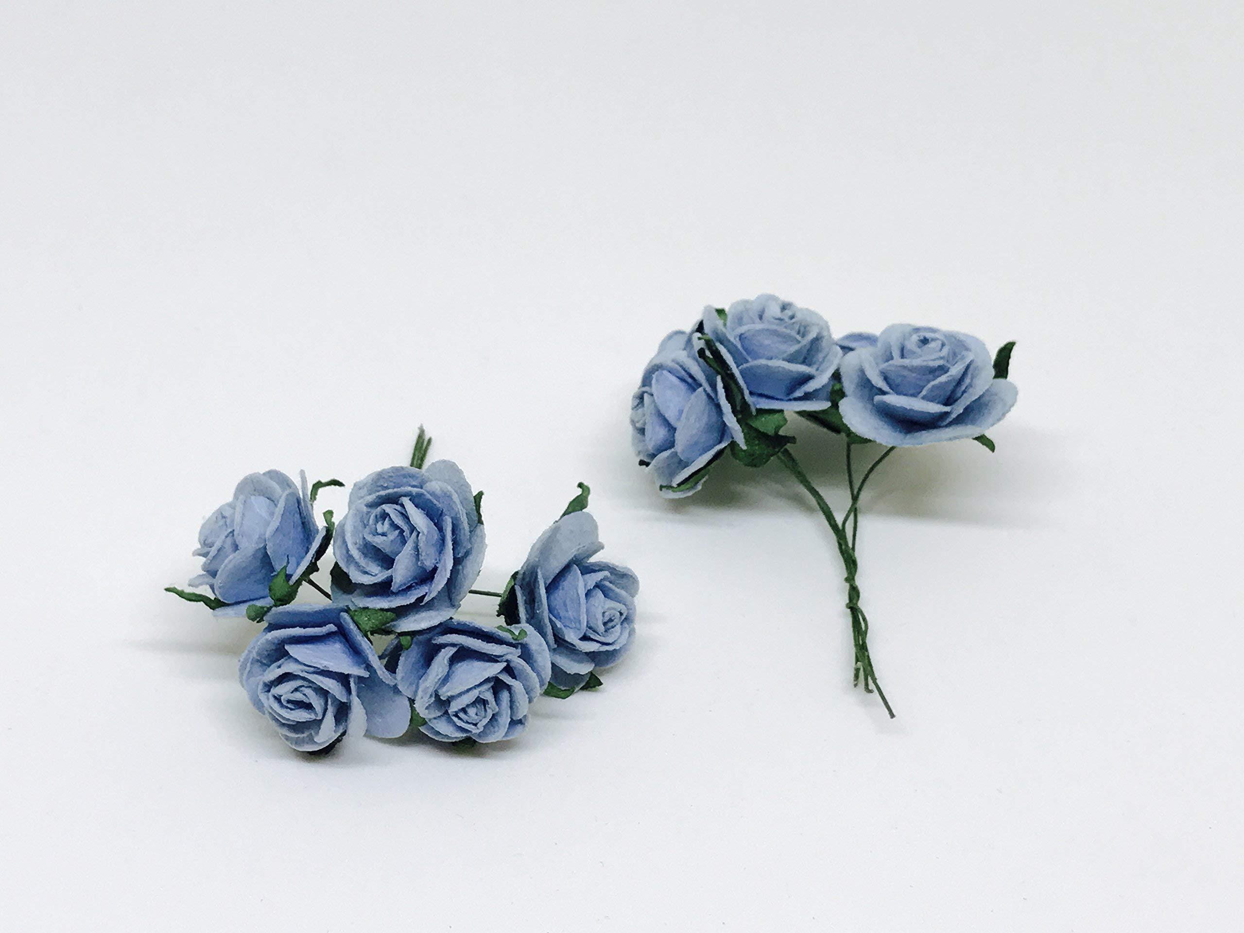 1-Blue-Paper-Flowers-Paper-Rose-Artificial-Flowers-Fake-Flowers-Artificial-Roses-Paper-Craft-Flowers-Paper-Rose-Flower-Mulberry-Paper-Flowers-20-Pieces