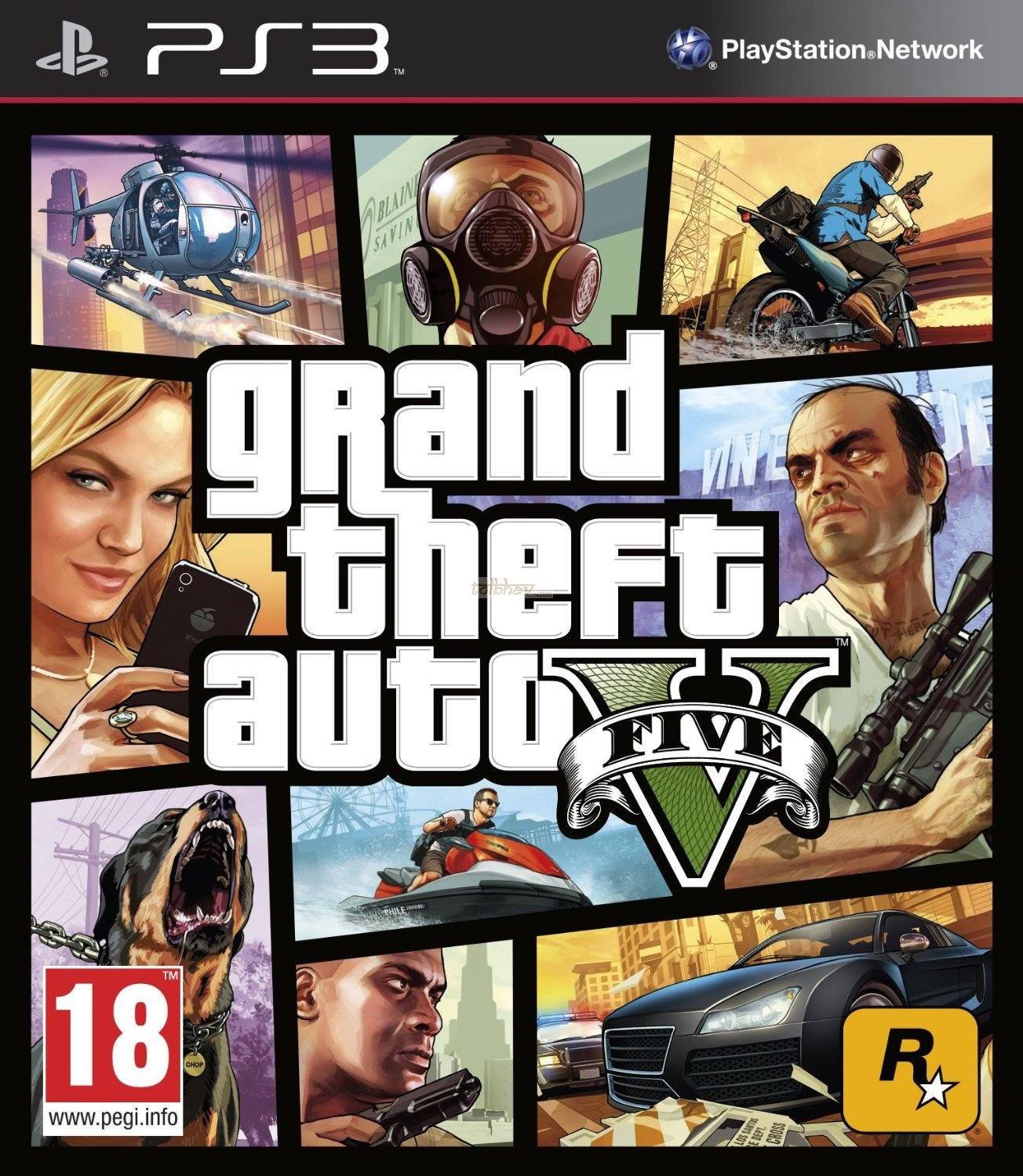 Grand Theft Auto V (PS3) product image