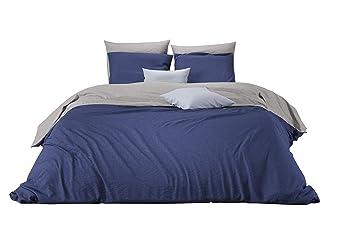 Mistral Home Bettwäsche 155x220 Cm Baumwolle Reißverschluss Zum
