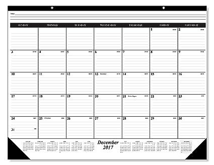 amazon com new years sale 35 off 13 month deskpad wall calendar