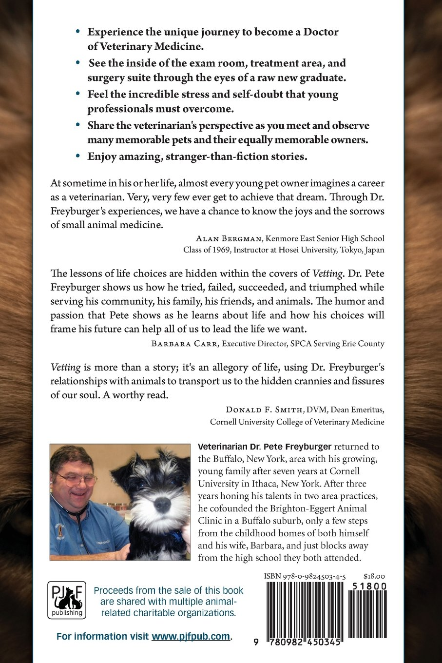 Vetting: The Making of a Veterinarian: Dr  Pete Freyburger