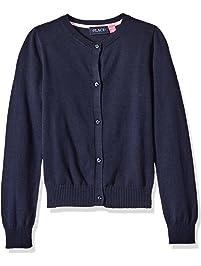 5fbbb2f4e05 The Children s Place Girls  Uniform Cardigan Sweater