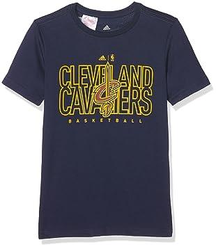 789a8108e4591 Adidas - T-shirt NBA Cleveland Cavaliers adidas pour enfants  Amazon ...