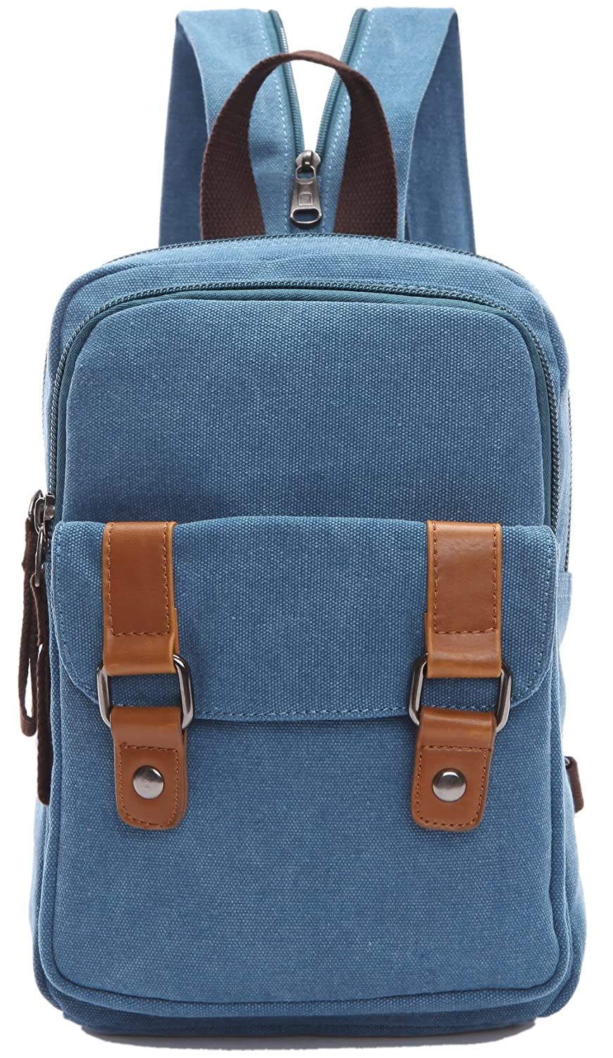 Arbag Small Cute Backpack Vintage Casual Canvas Shoulder Bag Daypack