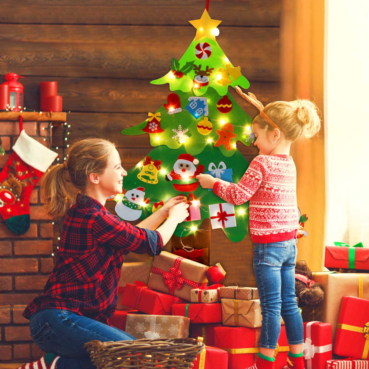 Great kids Christmas Tree/Christmas tree alternative!