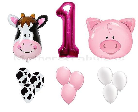 Amazon.com: Globos de temática de animales de granja de ...