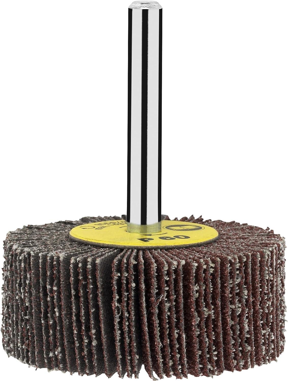 f/ür Bohrmaschinen verschiedene Materialien, /Ø 50 mm, K/örnung 150 Bosch DIY Lamellenschleifer mit Vlies