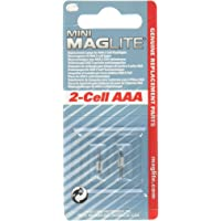 Maglite LM3A001 Lámpara de repuesto para Aaa mini linterna, 2-pack
