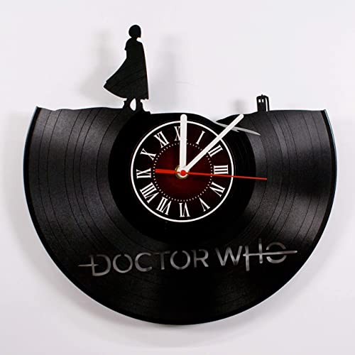 DOCTOR WHO 12 inches /30 cm Vinyl Record Wall Clock