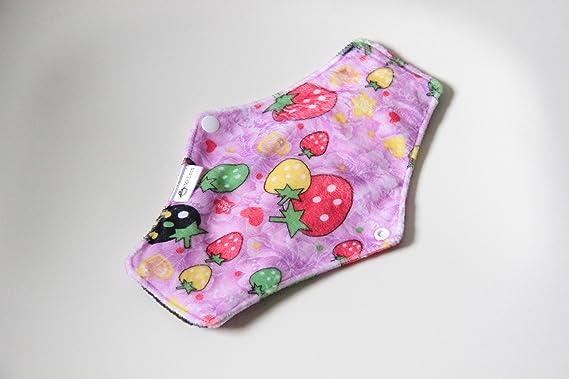 Compresas reutilizables   4 salvaslip tela muy absorbentes   toallas femeninas de tela menstruación: Amazon.es: Salud y cuidado personal