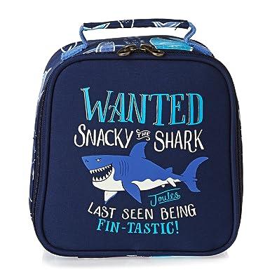 f8c63049096c Joules Junior Munch Kids School Lunch Bag One Size Shark SS17 ...