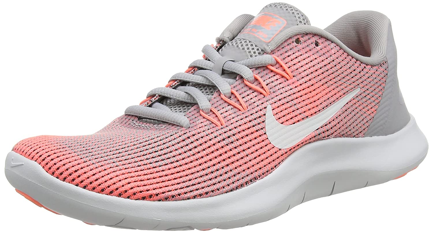 NIKE WMNS Flex 2018 Rn Womens Aa7408-005 B076117NB3 8.5 B(M) US|Atmosphere Grey/Vast Grey-crimson Pulse