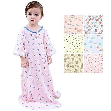 ff33f7dd5 Amazon.com  GEX Baby Sleep Sack Winter 100% Cotton- Kids Wearable ...