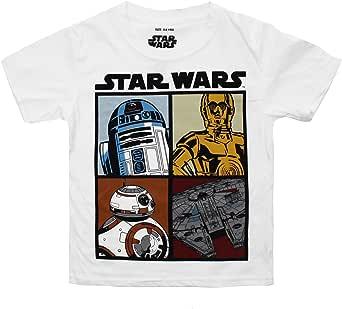 Star Wars Droids and Ships Camiseta para Niños