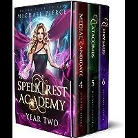 Spellcrest Academy – Year Two (Spellcrest Academy Omnibus Book 2) (English Edition)