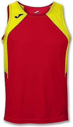 Joma Record II, Camisa sin Mangas para Hombre, Rojo/ Naranja: Amazon.es: Ropa y accesorios