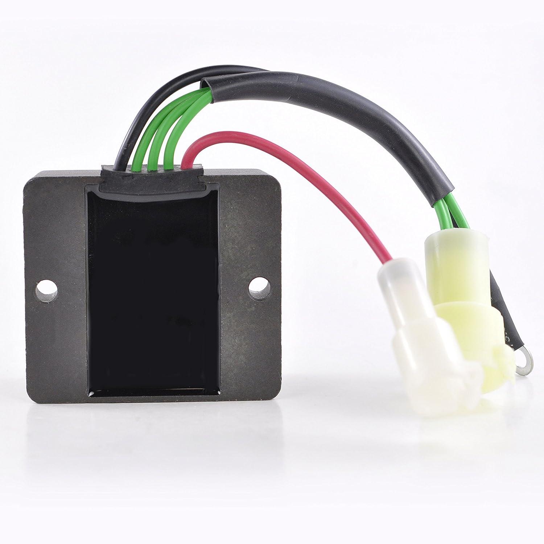 150 TXR TLR 1991-2006 OEM Repl.# 6R3-81960-10-00 6R3-81960-00-00 AC//DC Voltage regulator rectifier For Yamaha Outboard 115 TLR TXR TJR 130 TLR L130 TXR