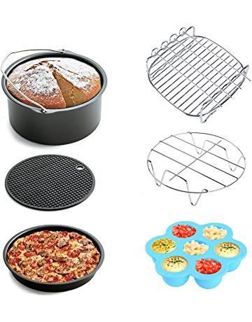 Air Fryer Accessories 6pcs for Gowise Phillips and Cozyna, fit all 3.7QT - 5.3