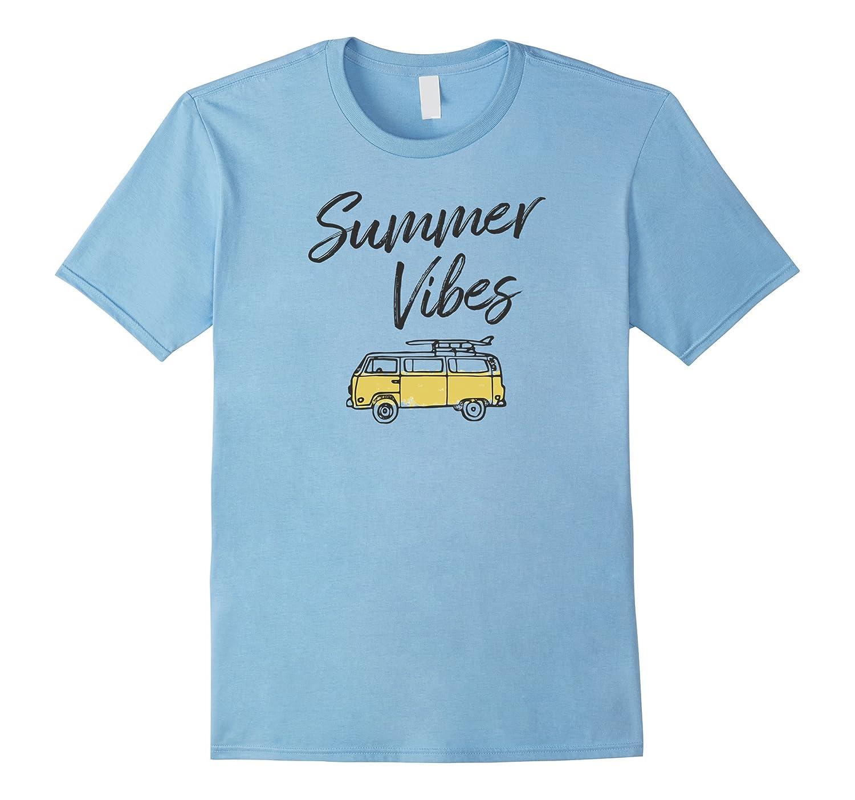 Summer Vibes T-Shirt Summer T-Shirts Surfing T-Shirts-TH