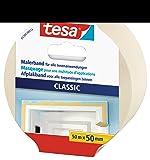 tesa Maler-Kreppband Classic 50mx50mm beige