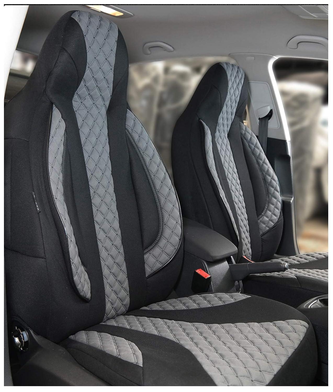 Maß Sitzbezüge Kompatibel Mit Skoda Kodiaq Fahrer Beifahrer Ab 2017 Farbnummer Pl401 Baby