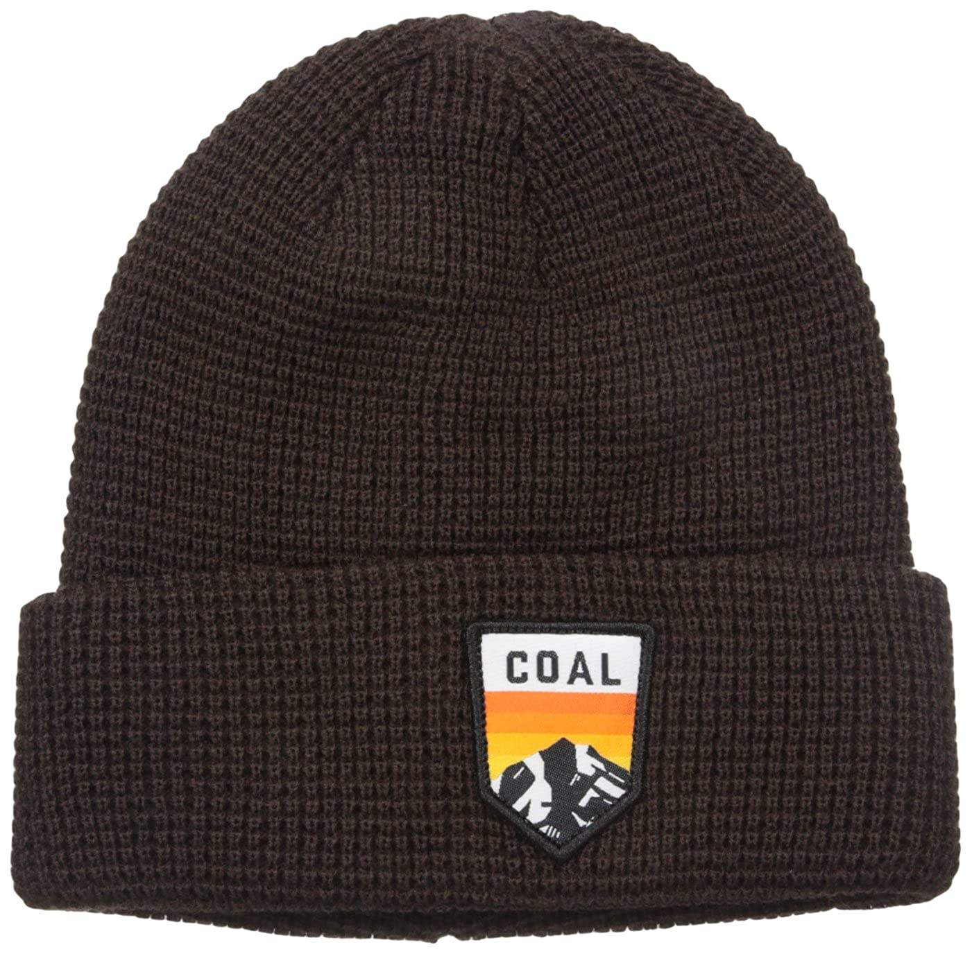 fdb91b75cdc Coal Men s the Summit Waffle Knit Beanie Cuffed Hat