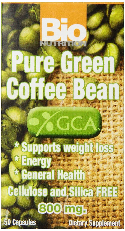Pure Green Coffee Bean GCA 50 SFG