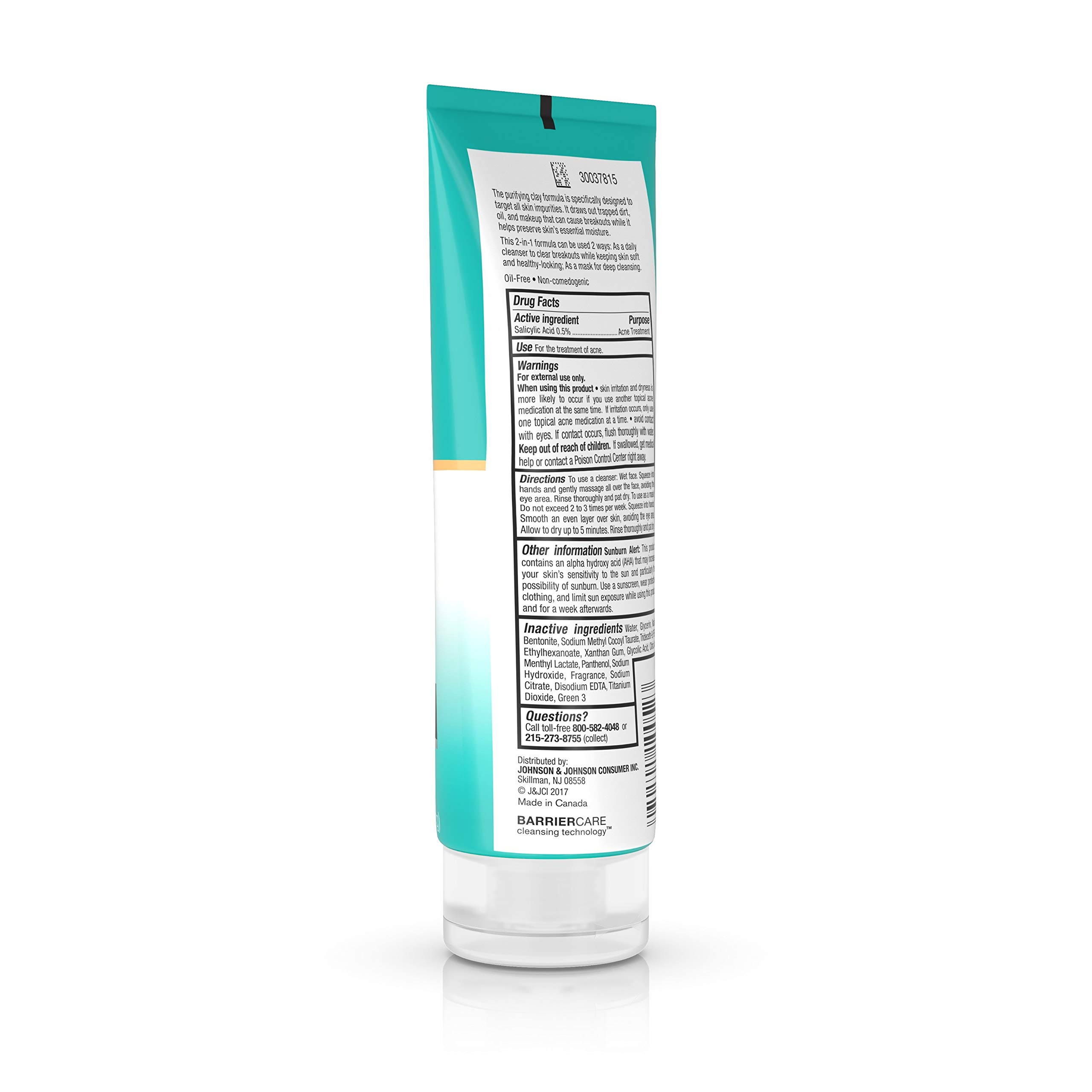 Deep Clean Purifying Clay Mask & Cleanser by Neutrogena #15