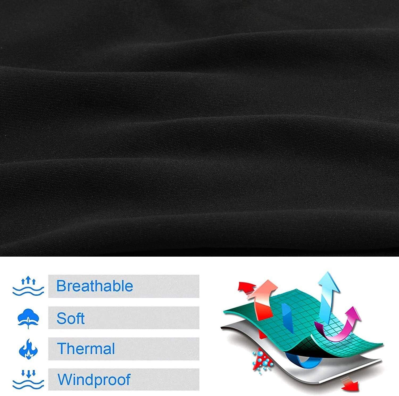 EverGreenPro Cagoule Respirante Coupe-Vent Masque Cache-Cou Anti Poussi/ère et Solaire Femme Homme Masque /élastique Tour de Cou pour Randonn/ée Moto V/élo Escalade