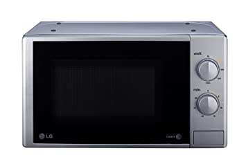 LG MS2022DU - Microondas (45.5 cm, 31.3 cm, 28.1 cm) Plata