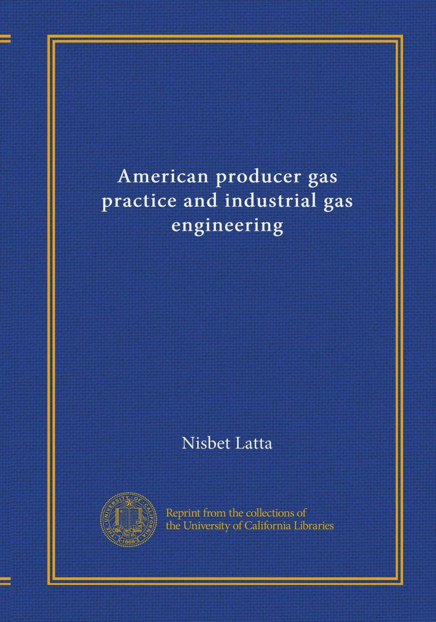 American producer gas practice and industrial gas engineering PDF