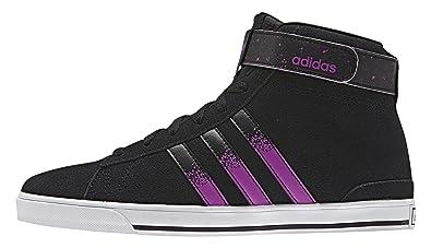 promo code 96133 5f8ab adidas Daily Twist Mid W, Chaussures de Sport Femme, NoirViolet (Negbas