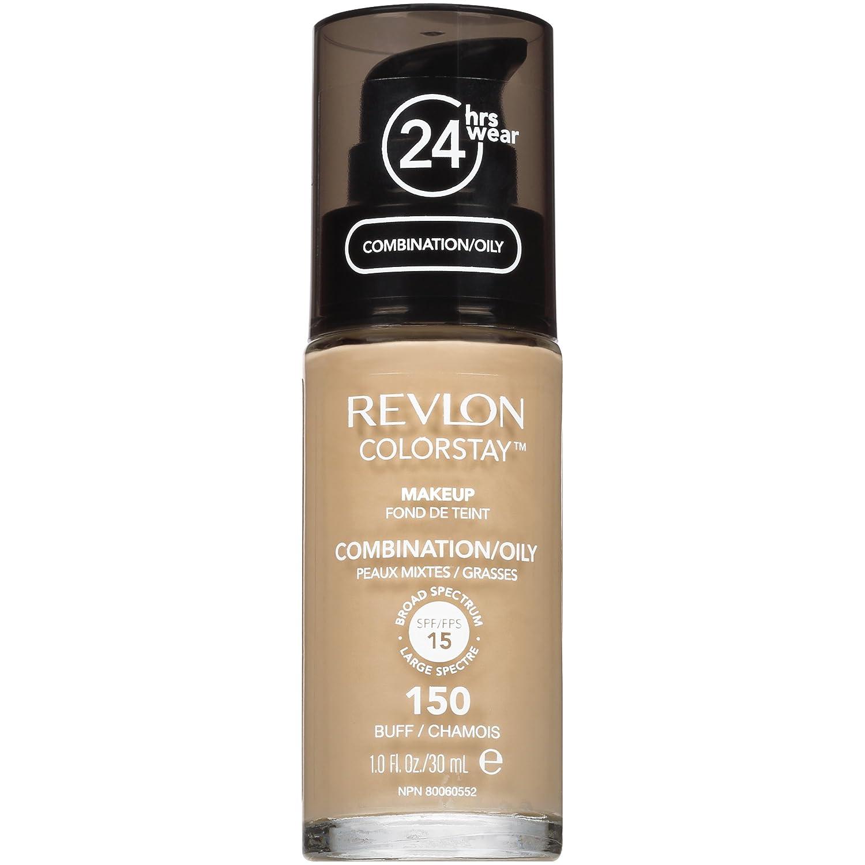 Revlon ColorStay Liquid Makeup for Combination/Oily Skin, Buff, 1 Fluid Ounce 7200434002