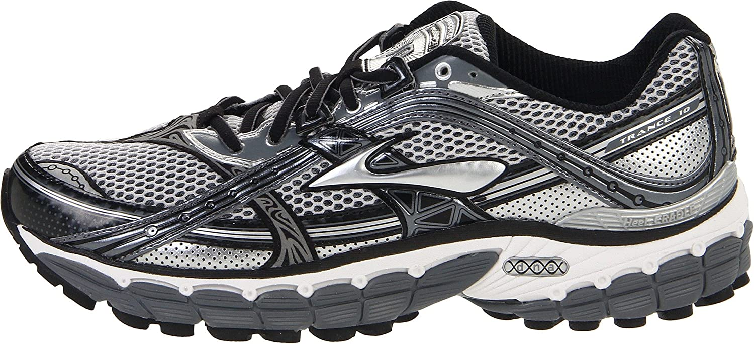 3276782c856 Brooks Men s Trance 10 M Pavement Silver Black White Trainer 1100871D096 7  UK