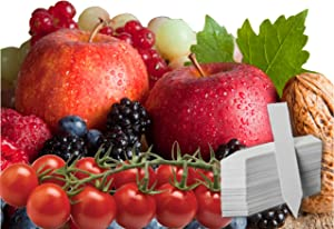 Fruit Combo Pack Raspberry, BlackBerry, Blueberry, Strawberry, Apple, Tomato 575+ Seeds & 4 Free Plant Markers