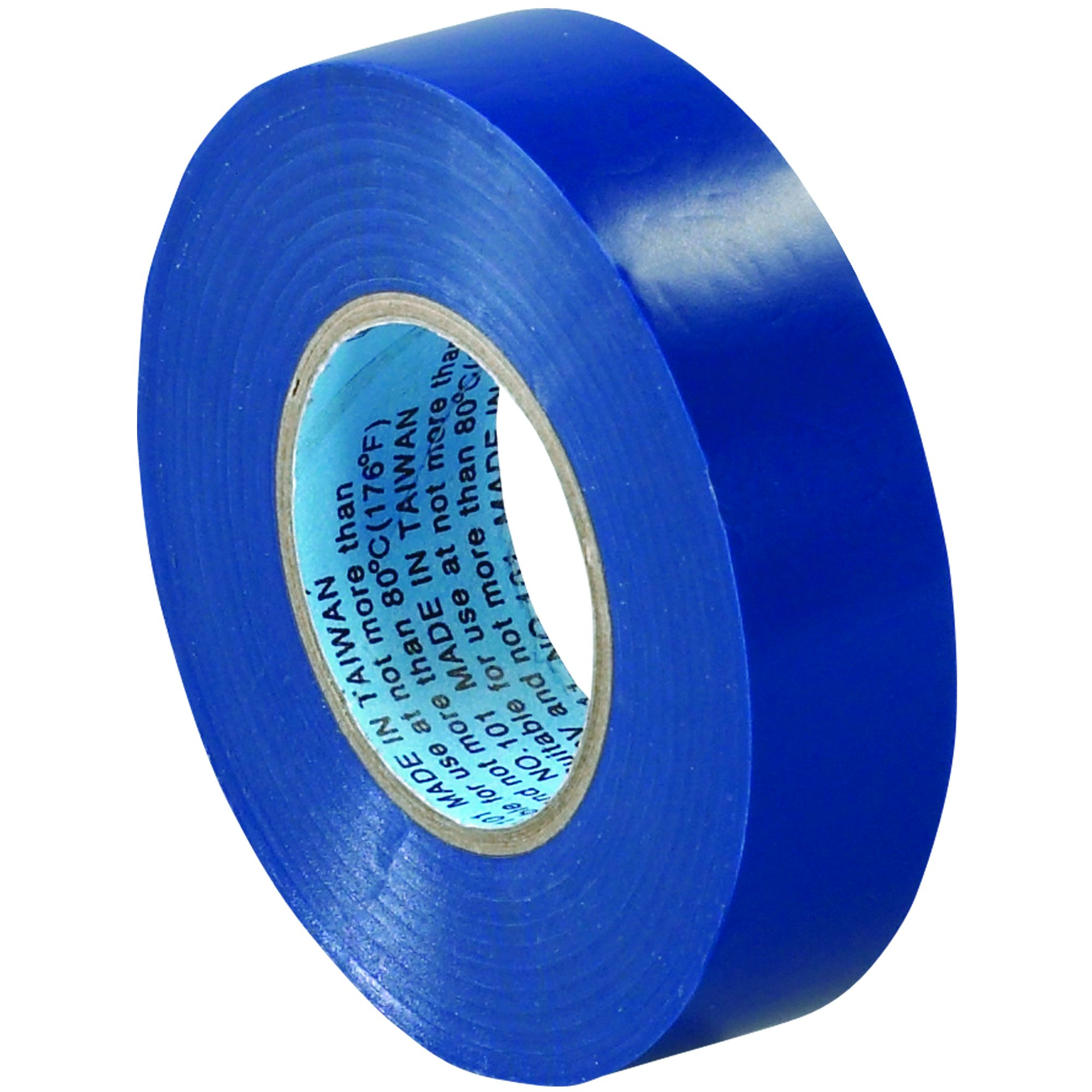 BOX BT96461810PKK Blue Electrical Tape, 20 yd. Length, 3/4'' (Pack of 10)