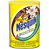 NESQUIK Nestle Chocolate Milk Mix, Canister, 1.36 Kg