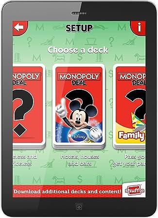 ToyMarket Shuffle Monopoly Deal Disney Card Game by: Amazon.es: Juguetes y juegos